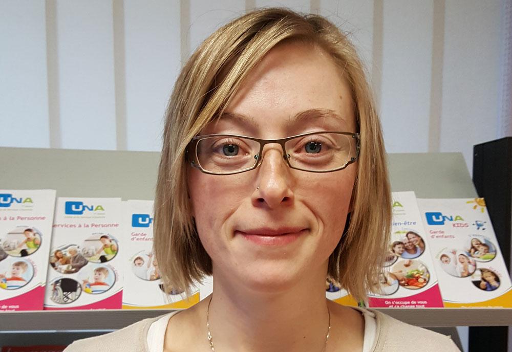 Actualités : Elodie Rauber, aide à domicile